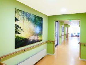 Farb- und Raumgestaltung für Pflegeeinrichtungen